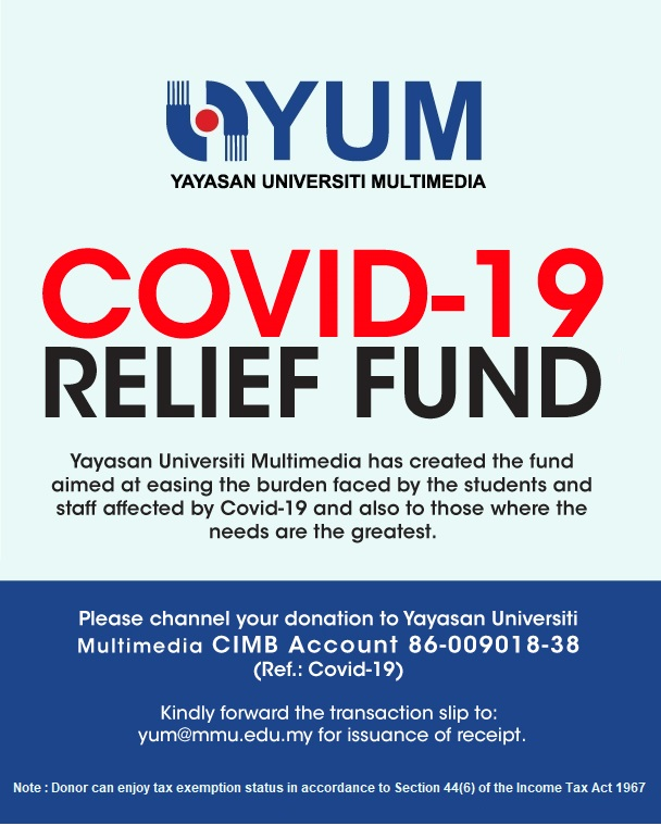 Multimedia University Yum Launches Covid 19 Relief Fund